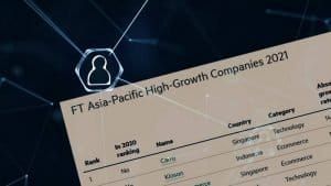 Financial Times: One of the fastest growing companies in the Asia Pacific