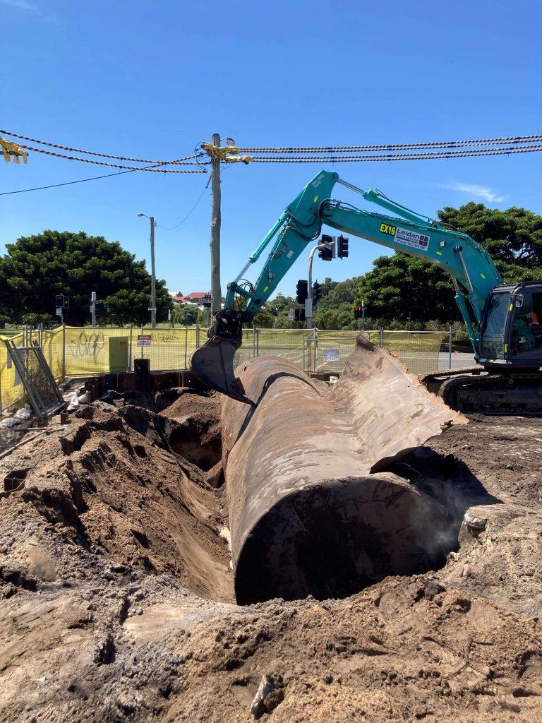 Removal of an underground storage tank