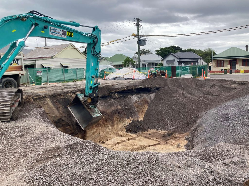removal of contaminated soil